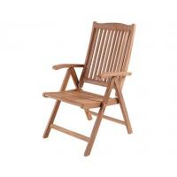 Кресло из тика Veronica, складное