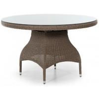 Плетеный стол Ninja, d120см