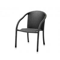 Плетеное кресло Coco, с подлокотниками