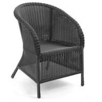 Плетеное кресло Magda, серое