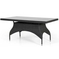 Плетеный стол Ninja, 160х90см