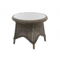Плетеный стол Paulina, диаметр 70 см.