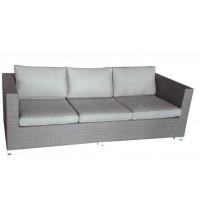 Плетеный диван Ninja, серый