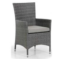 Плетеное кресло Ninja, серый