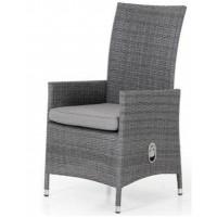 Плетеное кресло Ninja позиционное, серый