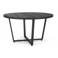 Leone стол круглый d130см, черный